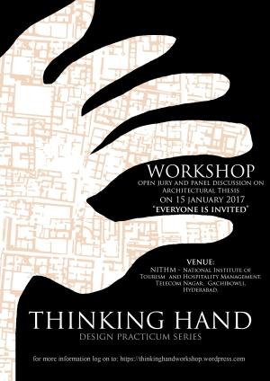 Thinking Hand Poster