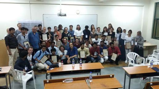 Thinking Hand INDO-EURO Workshop 25-27 Sep 2017 with Volunteers and Photographers Kubra Anjum, Ameen Siddiqui, Asim Shareef, Sai udeep, Sai Ram Reddy, Amrith Singh, Prerna Jain