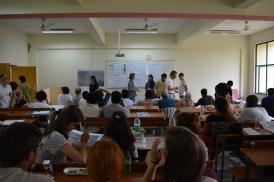 Thinking Hand workshop students gathering