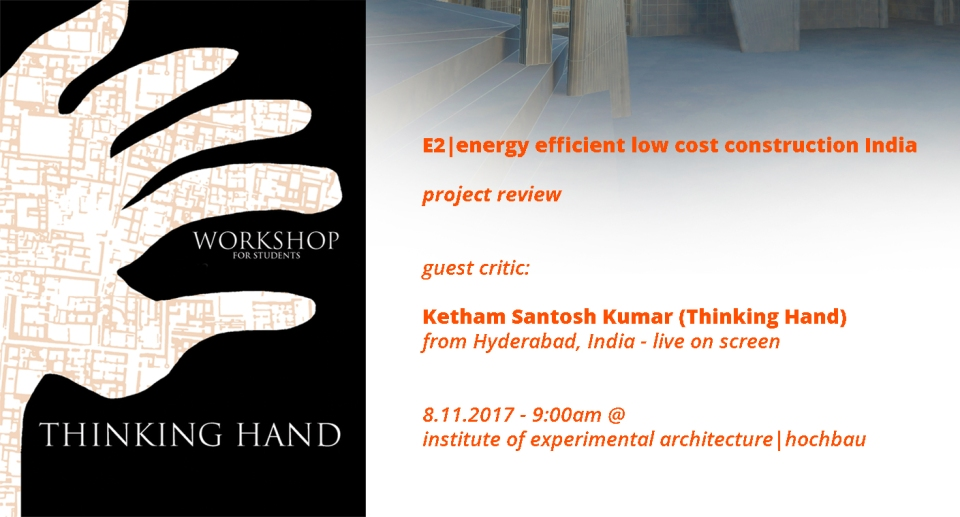 Ketham Santosh Kumar guest critic @ University of Innsbruck