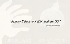 Ketham Santosh Kumar Quote 1