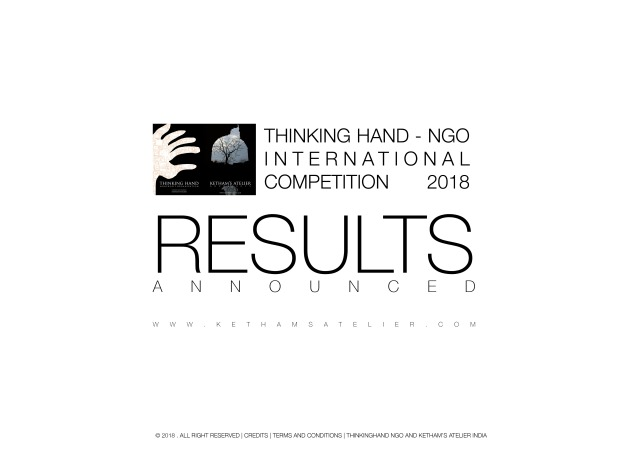 Press Release _ Competition Results 2018_Thinking hand ngo and Kethams Atelier