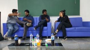02 Ketham Santosh Kumar in Josh Talks 2018