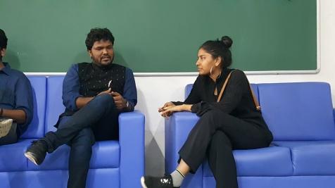 03 Ketham Santosh Kumar in Josh Talks 2018