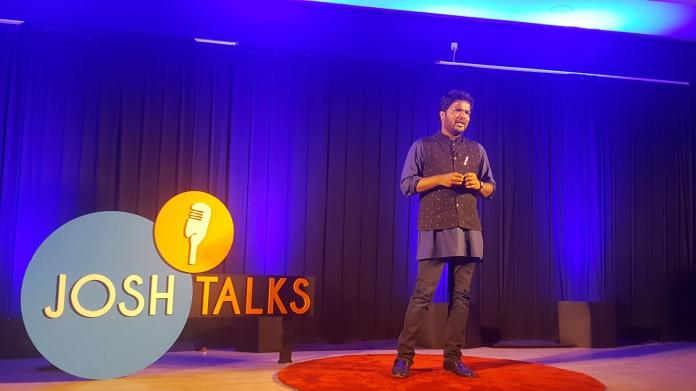 05 Ketham Santosh Kumar in Josh Talks 2018