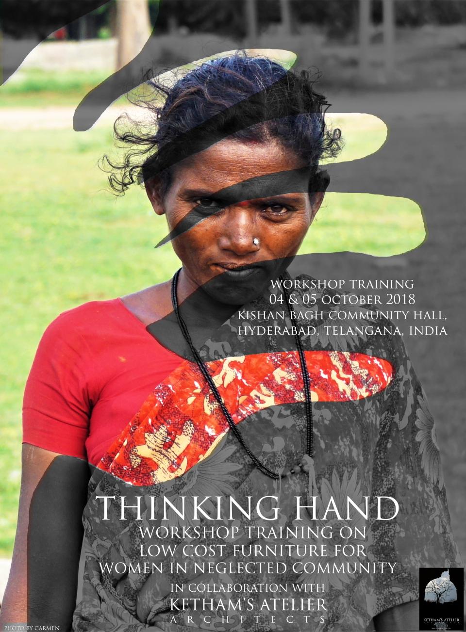 Thinking Hand Workshop for Women in Neglected Community 2018 - Ketham Santosh Kumar