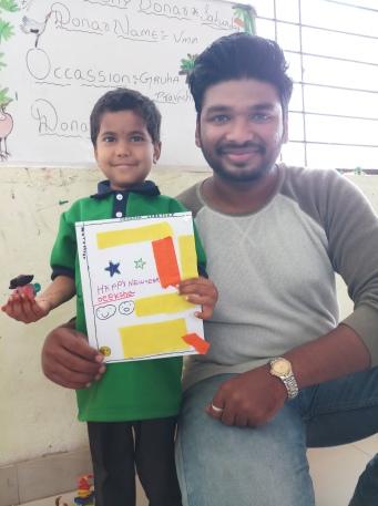 Thinking Hand one day with cherish orphanage kids-Ketham Santosh Kumar 10