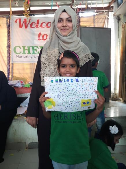 Thinking Hand one day with cherish orphanage kids-Ketham Santosh Kumar 11