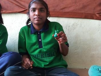 Thinking Hand one day with cherish orphanage kids-Ketham Santosh Kumar 12