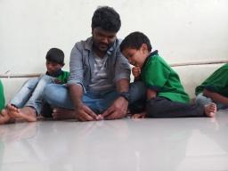 Thinking Hand one day with cherish orphanage kids-Ketham Santosh Kumar 13