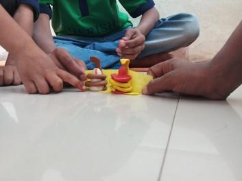 Thinking Hand one day with cherish orphanage kids-Ketham Santosh Kumar 14