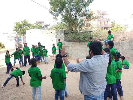 Thinking Hand one day with cherish orphanage kids-Ketham Santosh Kumar 15