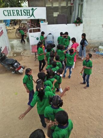 Thinking Hand one day with cherish orphanage kids-Ketham Santosh Kumar 16