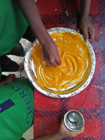 Thinking Hand one day with cherish orphanage kids-Ketham Santosh Kumar 16a