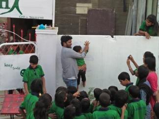 Thinking Hand one day with cherish orphanage kids-Ketham Santosh Kumar 17