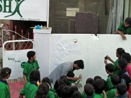 Thinking Hand one day with cherish orphanage kids-Ketham Santosh Kumar 18