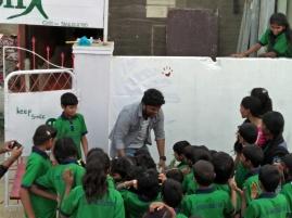 Thinking Hand one day with cherish orphanage kids-Ketham Santosh Kumar 19