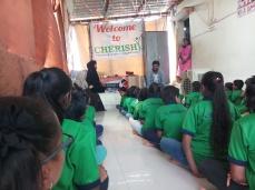 Thinking Hand one day with cherish orphanage kids-Ketham Santosh Kumar 2