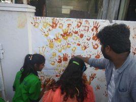 Thinking Hand one day with cherish orphanage kids-Ketham Santosh Kumar 21