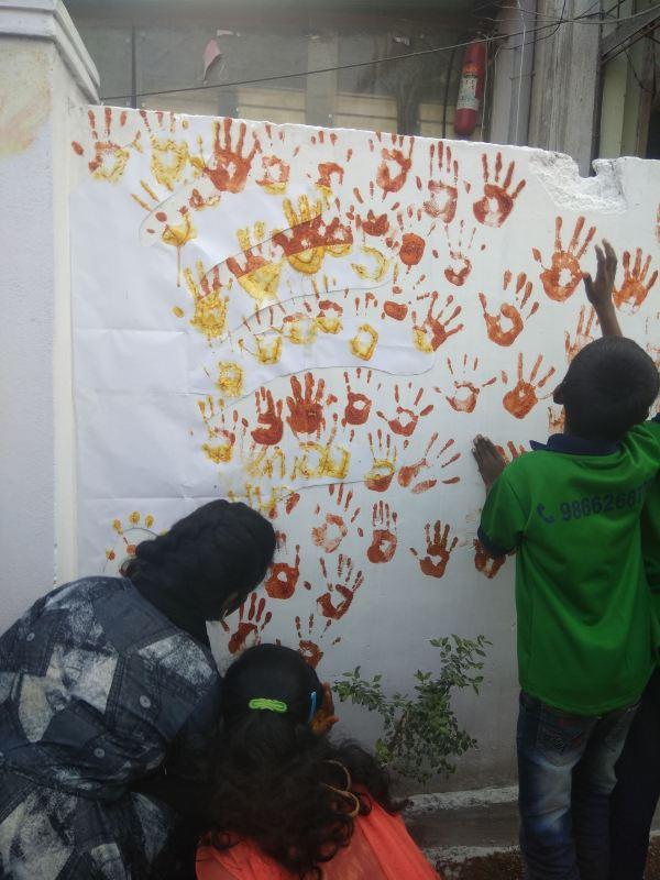 Thinking Hand one day with cherish orphanage kids-Ketham Santosh Kumar 22