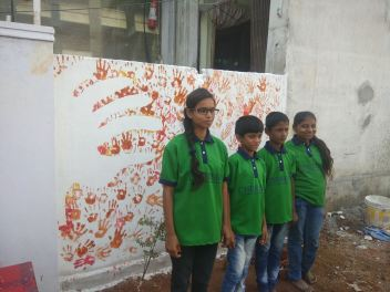 Thinking Hand one day with cherish orphanage kids-Ketham Santosh Kumar 24