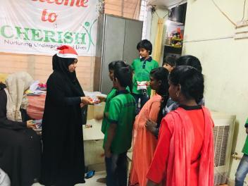 Thinking Hand one day with cherish orphanage kids-Ketham Santosh Kumar 25