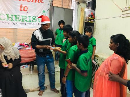 Thinking Hand one day with cherish orphanage kids-Ketham Santosh Kumar 26