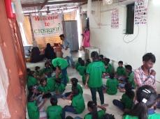Thinking Hand one day with cherish orphanage kids-Ketham Santosh Kumar 3