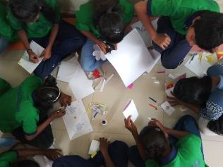 Thinking Hand one day with cherish orphanage kids-Ketham Santosh Kumar 5