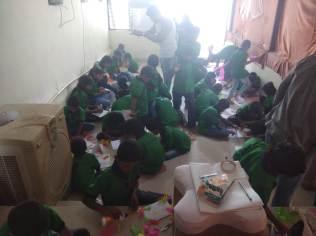 Thinking Hand one day with cherish orphanage kids-Ketham Santosh Kumar 6