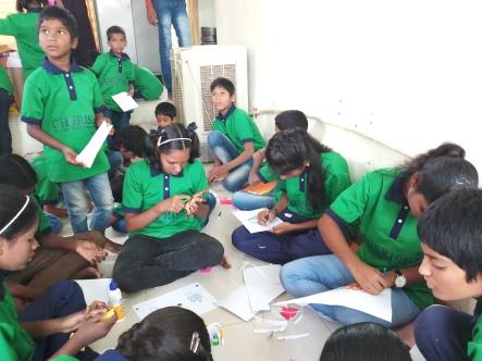 Thinking Hand one day with cherish orphanage kids-Ketham Santosh Kumar 7