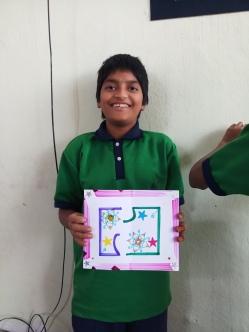 Thinking Hand one day with cherish orphanage kids-Ketham Santosh Kumar 8