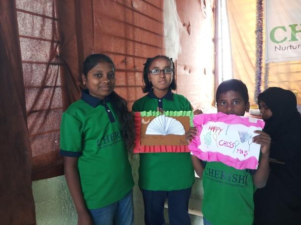 Thinking Hand one day with cherish orphanage kids-Ketham Santosh Kumar 9