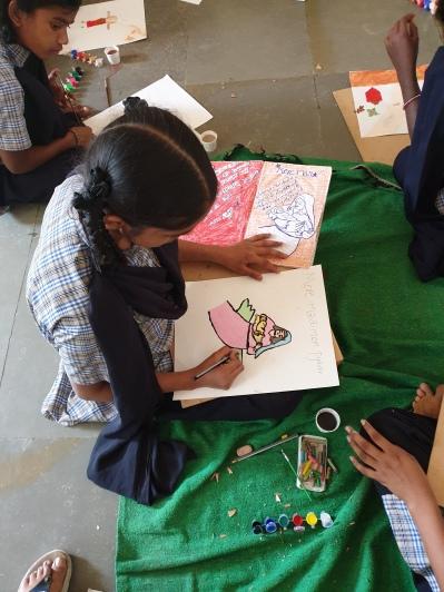 01-Thinking Hand NGO Juvenile Workshop 2019 for Girls