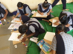 03a-Thinking Hand NGO Juvenile Workshop 2019 for Girls