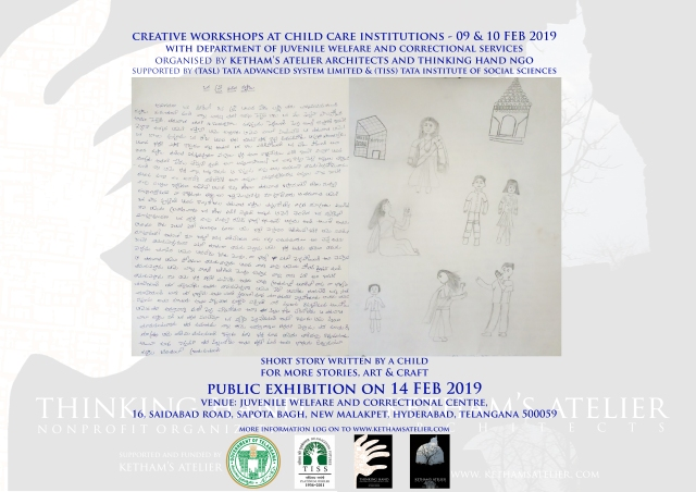 Ketham's Atelier, Thinking Hand, TISS, TASL, Juvenile Institutions Exhibition 2019
