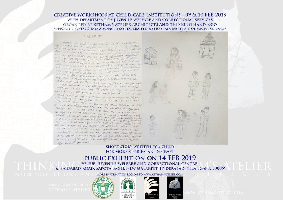 Ketham's Atelier, Thinking Hand, TISS, TASL, Juvenile Institutions Exhibition 2019
