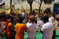 01 Dancing with children-Thinking Hand NGO