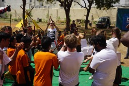01 Dancing with children-Thinking Hand NGO