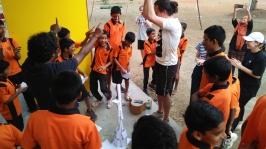 03 Workshop with Children-Thinking Hand NGO